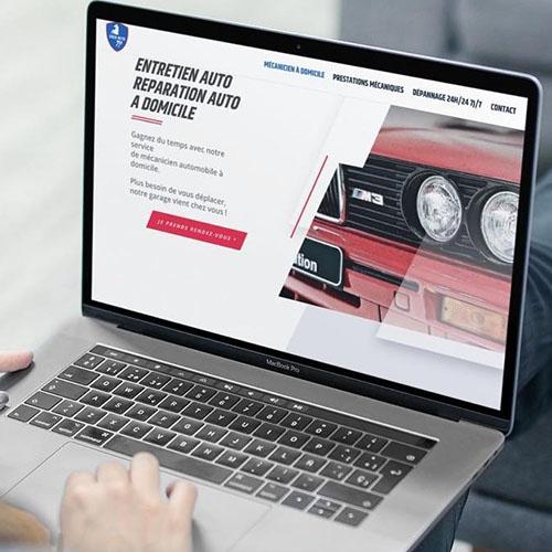 site internet ENZO Auto
